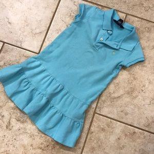 Ralph Lauren blue toddler dress